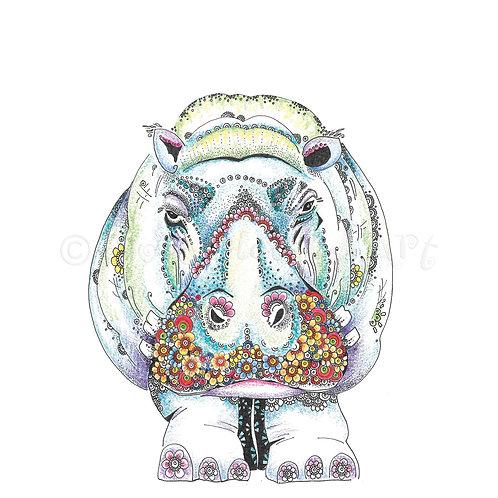 Grumpy Hippo [481]