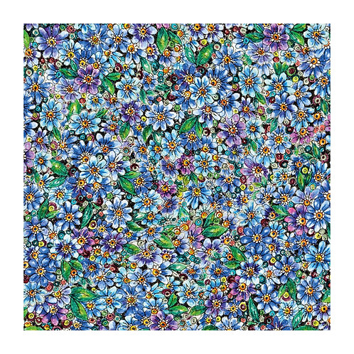 6 x Floral Pattern Forget-me-not [348]