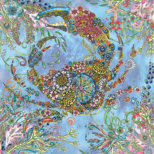 Colourful Crab Foiled [557]