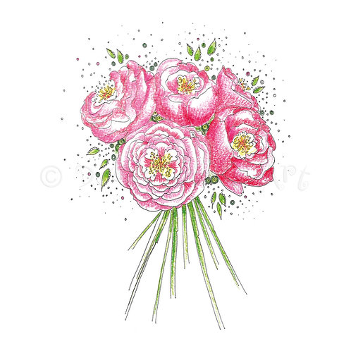 Peony Bouquet [262]