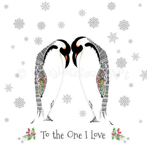 6 x Penguin Snow [177]