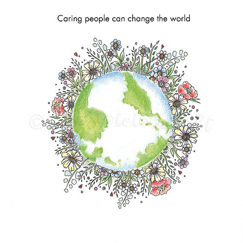 6 x Caring People Can Change the World [446]
