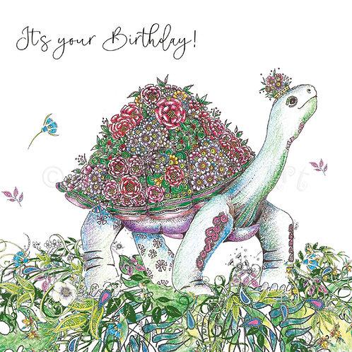 Tortoise Birthday Foiled [556]