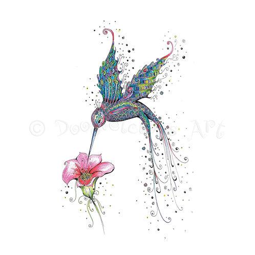 Purple Hummingbird [039]