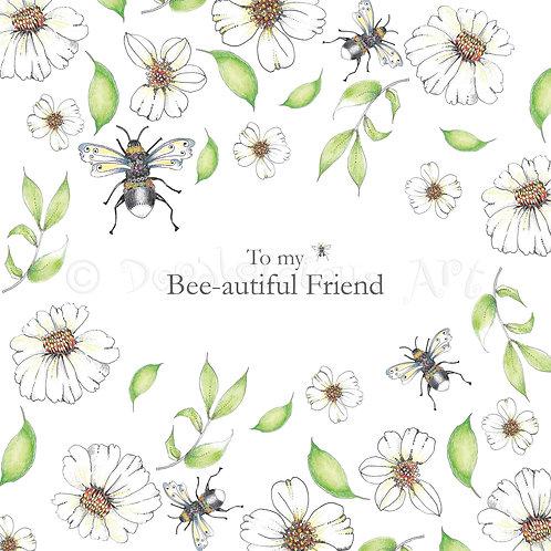 Wild Flower Bee-autiful Friend [409]