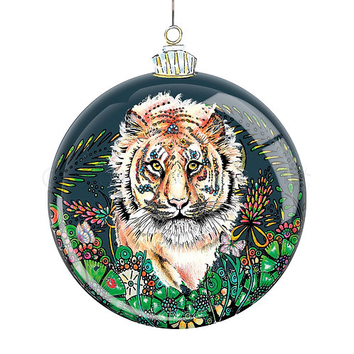 Botanical Bauble Tiger [520]