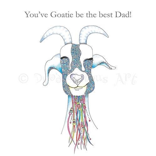 6 x Goatie Best Dad [454]