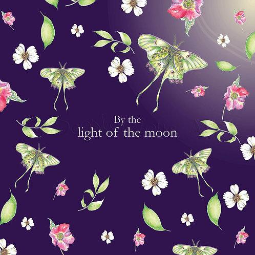6 x Wild Flower Light of the moon [418]