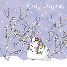 6 x Christmas Ptarmigan Merry Christmas [239]