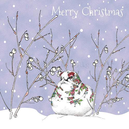 6 x Christmas Ptarmigan Merry Christmas [239]