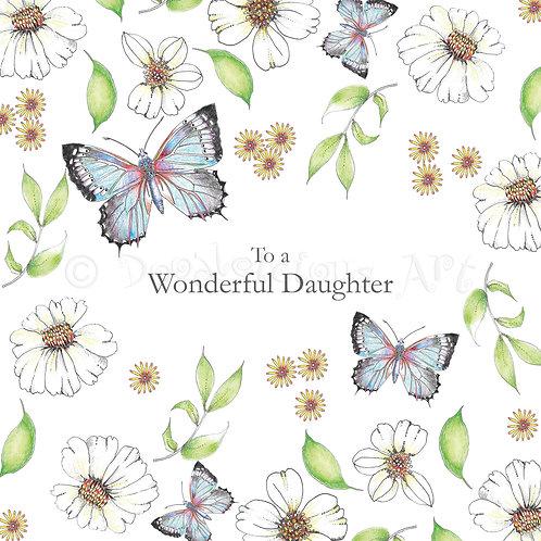 Wild Flower Wonderful Daughter [422]