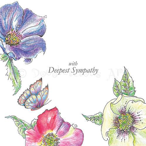 Wild Flower Hellebore Deepest Sympathy [445]