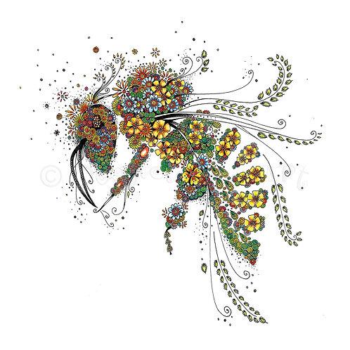 6 x Honey Bee [051]