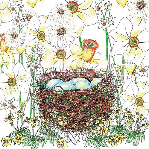 6 x Easter egg nest [218]