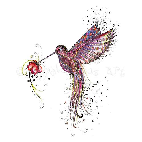 Pink Hummingbird [038]