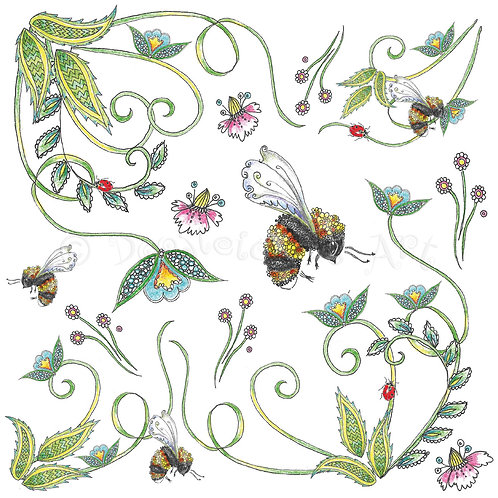 Bees and Flowers [532]