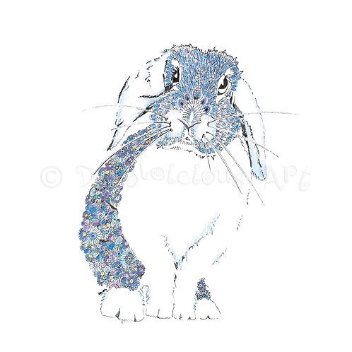 Blue Bunny [045]