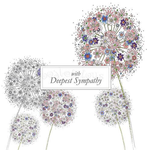 6 x Alliums Deepest Sympathy [441]