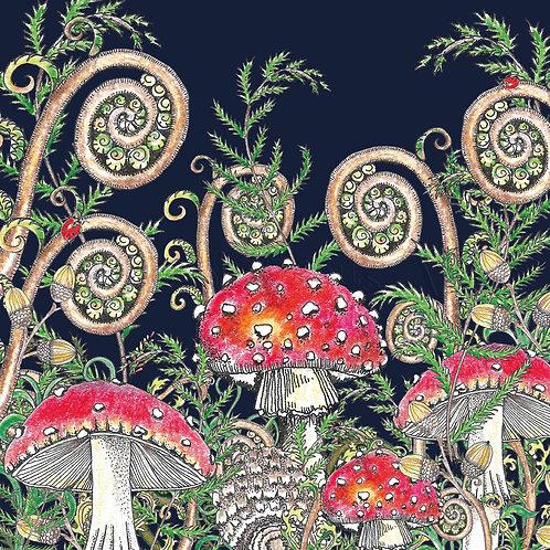 Woodland Fungi dark [545]