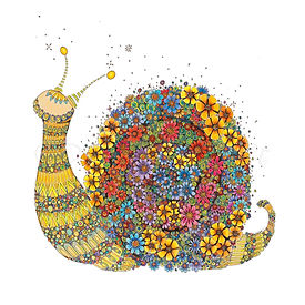 6 x Cecily the Snail [047]