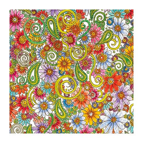 6 x Floral Doodle [279]