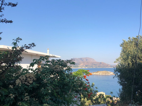 Getting to Greece (and arriving in paradise)