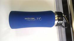 Металлическая бутылка с логотипом
