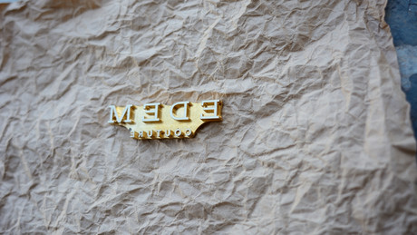 Клише с логотипом фирмы