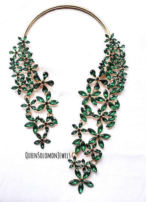 Emerald Garden Necklace