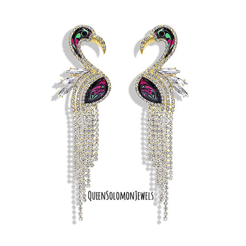 Sexy Swan Earrings