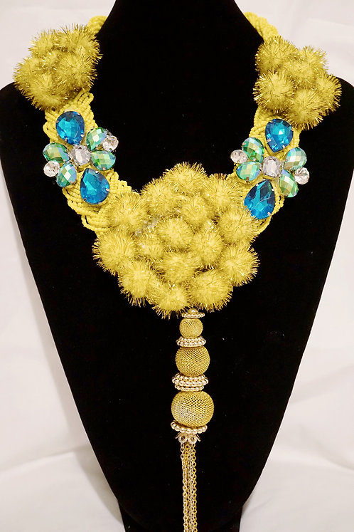 Zumba Yellow Royal Neckalce