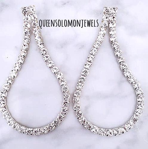 Swoop'em Up Earrings