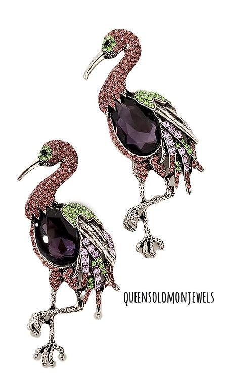 Fun Flamingo Earrings