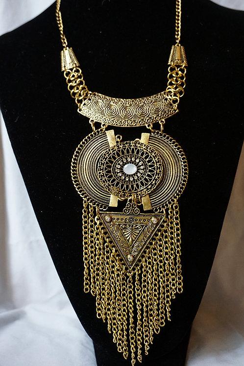 ARI Brass Necklace