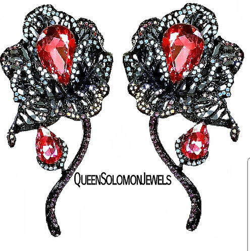 Harlem Rose  Earrings