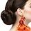 Thumbnail: Feather PeaCock Earrings