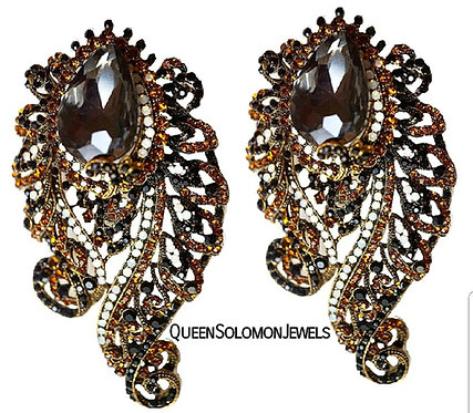 Emperial Bronze Earrings