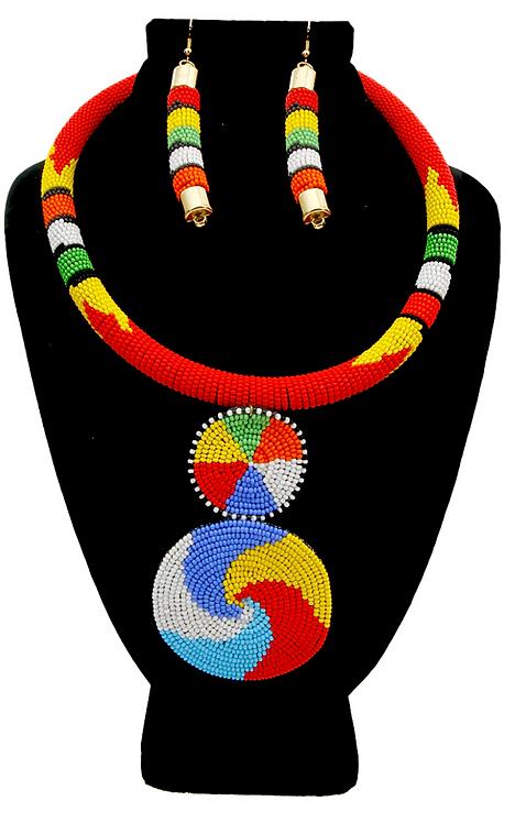 Zara Zula Beaded Necklace