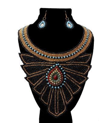 Blaque Magic Necklace Handmade