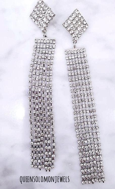 Teaze Tassell Diamond Earrings