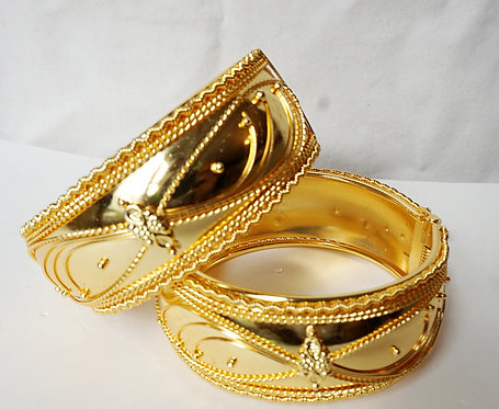Indy 24K Plated Bangles Each