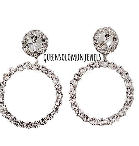 Hop On Hoops Diamond Earrings
