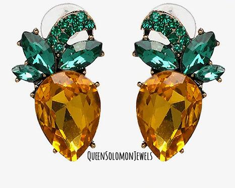 Elegant Pine Earrings