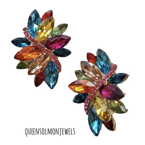 Multi Garden Earrings