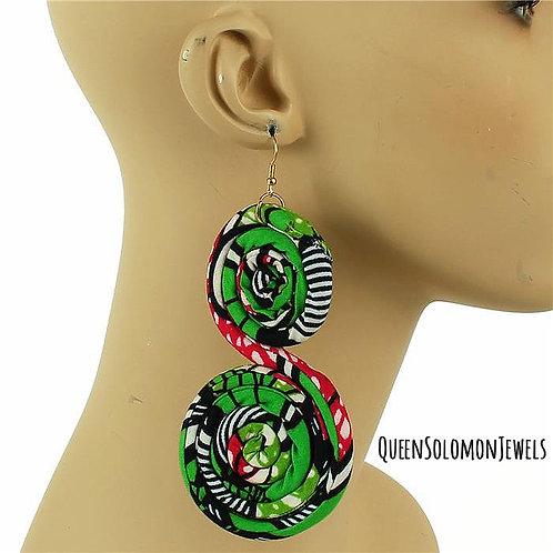 Eco Green Earrings