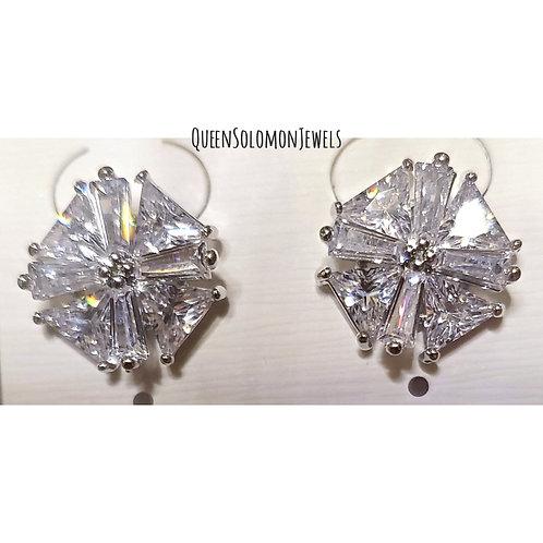 Crsytal Studd Earrings