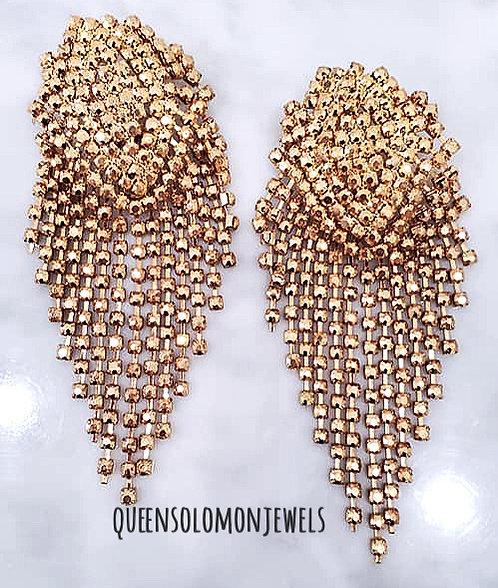 Goddess Gold Earrings
