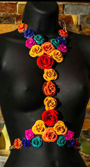 Flower Fashion Necklace
