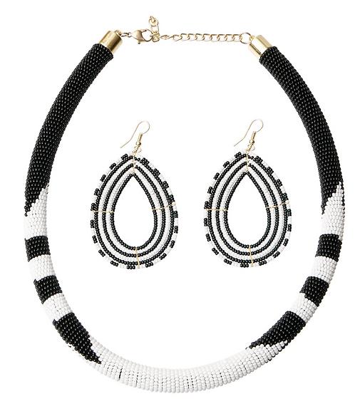 Zebra & Zulu Necklace