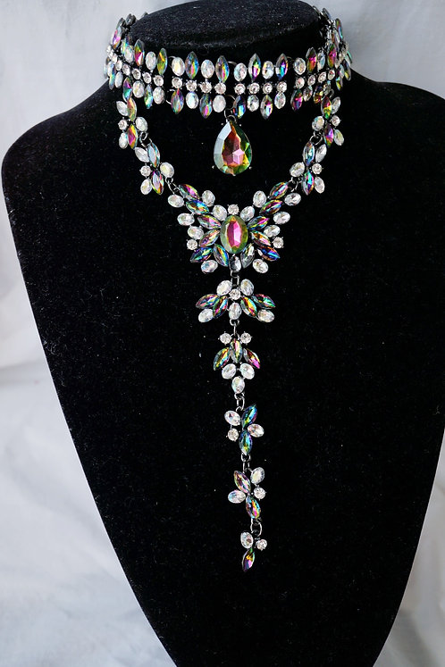 Queen Of Niles Gem Stone Necklace